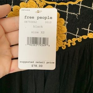 Brand New Free People Blouse